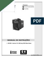 Manual de Instrucoes Maquina de Solda Inversora