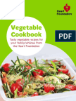 Heart Foundation Vegetable Cookbook 2016