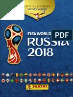 Álbum Da Copa Do Mundo_2018 - Rússia (III)