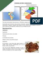 Comida Regional de Puno y Huancavelica
