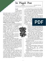 July 2006 Pisgah Post Newsletter, Pisgah Presbyterian Church