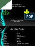 PPT TB + PLEURITIS