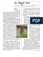 June 2006 Pisgah Post Newsletter, Pisgah Presbyterian Church
