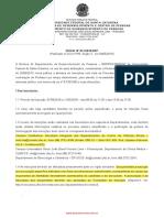 Edital de Seleção de Professores Temporários - Campus Curitibanos