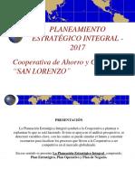 Plan Estratégico 2017 - San Lorenzo