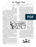 March 2006 Pisgah Post Newsletter, Pisgah Presbyterian Church