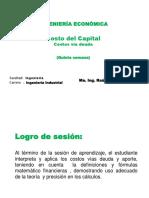 URP INGECO S4 Costo Del Capital