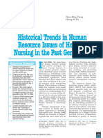 Historical Trends in Human Resource Management