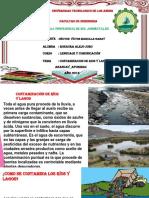 Contaminacion de Rios y Lagos Diapsvas