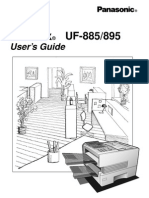 PanasonicUF885-895UserManual
