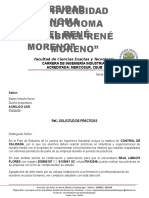 Carta Practicas Industriales Industrial-uagrm