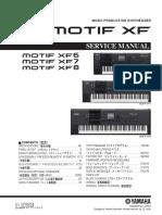 Yamaha Motif Xf6 Xf7 Xf8 Service Manual