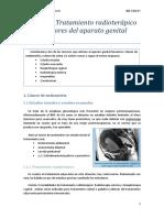 Tema 18. Tratamiento Radioterápico de Los Tumores Del Aparato Genital