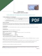 Ficha Tecnica de Polvo Quimico