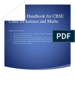 Formulae Handbook for CBSE Class 10 Science and Maths