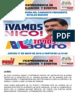 Plan de Movilizacion Cierre de Campana Maduro 2018