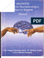 Neuropsi Breve - Manual