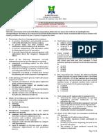 Management Advisory Services Part 1 Pre-exam