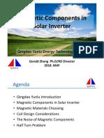 Magnetic Components in Solar Inverter V1---Yunlu