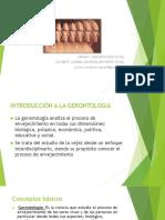 1º Clase Gerontologia