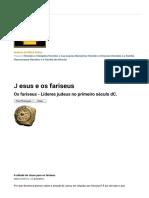 Jesus e Os Fariseus (História Da Bíblia Online)