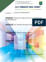 Monografía-_-historia y Origen Del Cero
