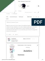 Aoishiro - Walkthroughs - Fuwanovel Forums