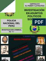 El Proceso de La Politica Nacional Clase IV