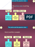 Active and Passive Voice(3)