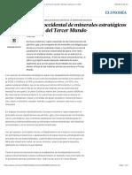 La dependencia occidental de minerales estratégicos del Tercer Mundo | Edición impresa | EL PAÍS