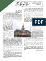 August 2008 Pisgah Post Newsletter, Pisgah Presbyterian Church