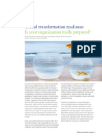 2010 Global Transformation Readiness Deloitte Ireland