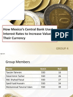 Presentation on Bank of Mexico
