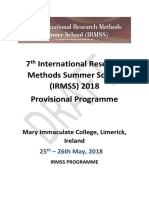 Draft Programme_7th International Research Methods Summer School_18.05.2018