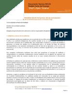 Documento Técnico Modelo Carta de Encargo