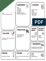 Plantilla CANVAS Para Programar Proyectos
