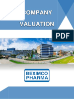 Term Paper on Firm Valuation of Beximco Pharma