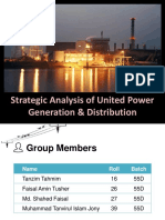 Presentation on Strategic Analysis of UPGD