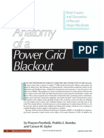 The Anatomy of a Power Grid Blackout - Root Causes and Dynamics of Recent Major Blackouts