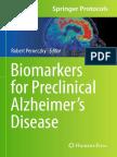 Clinical Biomarker for Alzheimer