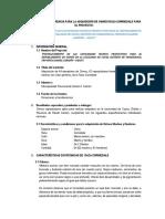 Terminos de Referencia Adquisicion de Ovinos Docx