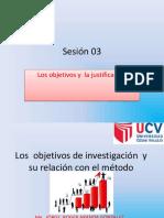 SESION_03 Objetivos y Justificacion