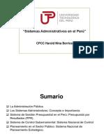 Sistemas Administrativos Del Estado(1)