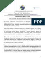 Comunicado de Cancillería sobre la situación de los menores dominicanos