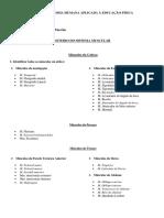Roteiro Sistema Muscular Edu. Fís.1