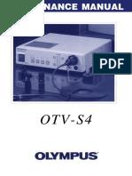 Processadora de Vídeo Olympus Otv-s4 - Ms