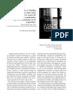 Comentario a Claudia Cesaroni. La vida como castigo.   Los casos de adolescentes condenados a prisión perpetua en                la Argentina.
