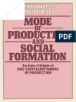 Barry Hindess, Paul Hirst (Auth.) - Mode of Production and Social Formation_ an Auto-Critique of Pre-Capitalist Modes of Production (1977, Palgrave Macmillan UK)