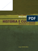 Historia e Cultura - Marshall Sahlins
