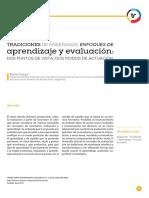 Aprendizaje y Evaluacio
